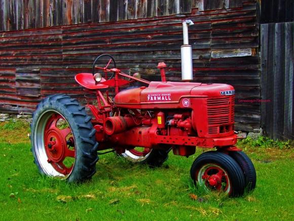1948 McCormick Deering Farmall farm tractor