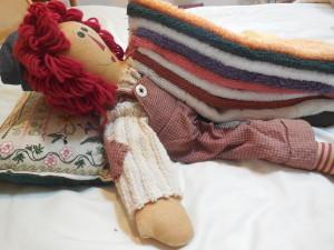 8 blankets